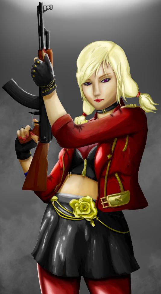 CrossFire (MMOFPS) - Catrin Weaver Half Body