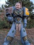 Warhammer 40k Space Wolf Boy - Cosplay Costume