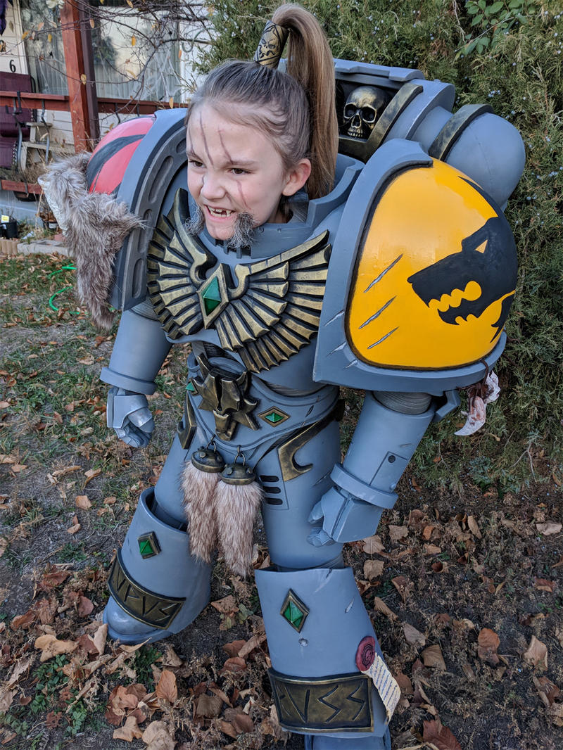 ... Marine Chapter are Dark Angels but Space Wolves are the second. This is an amazing cosplay with really good details. I never heard of kids being ...  sc 1 st  Alienware Arena : kids marine costume  - Germanpascual.Com
