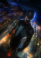 spiderman black suit by Memed