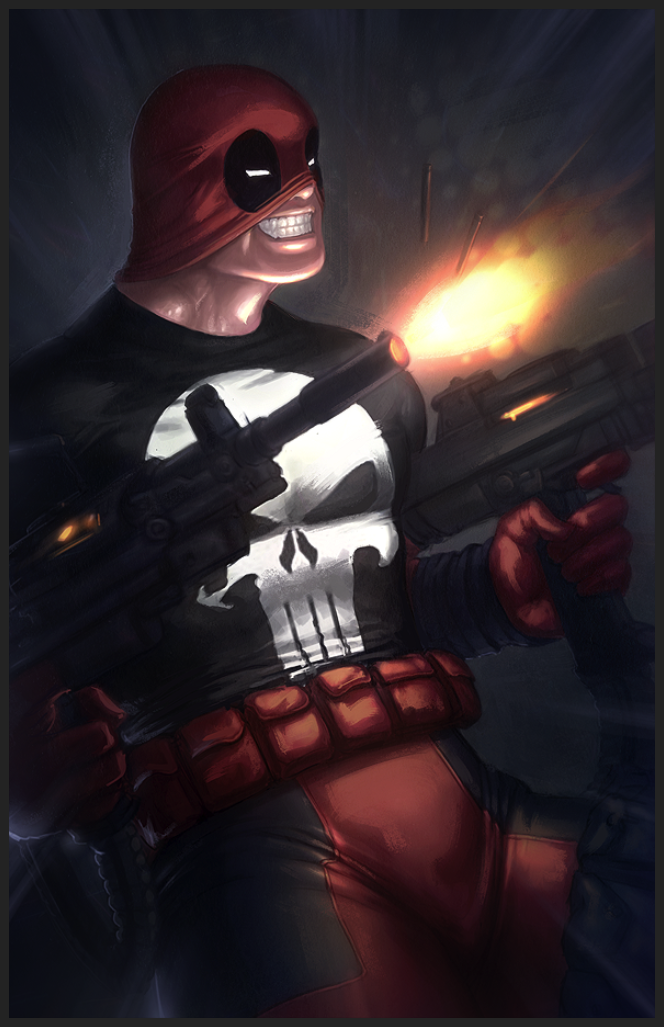 Deadpool by Memed