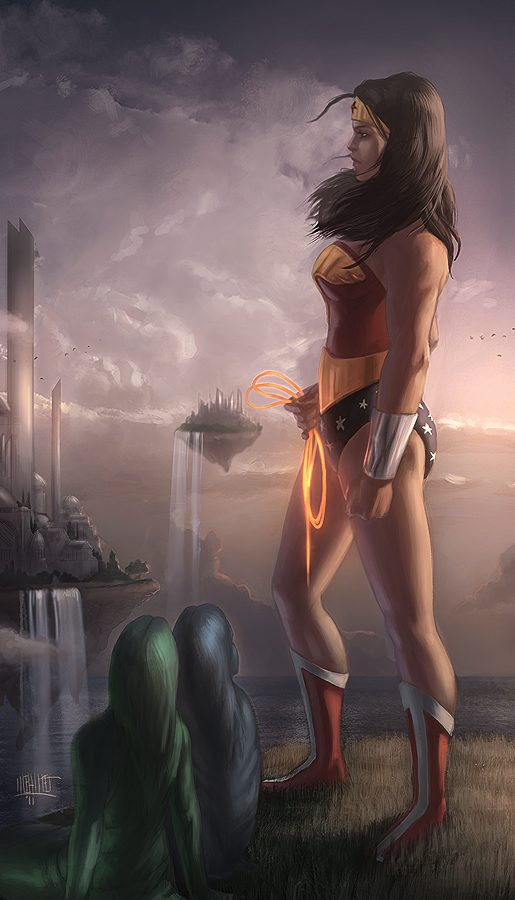 Wonder Woman by Memed
