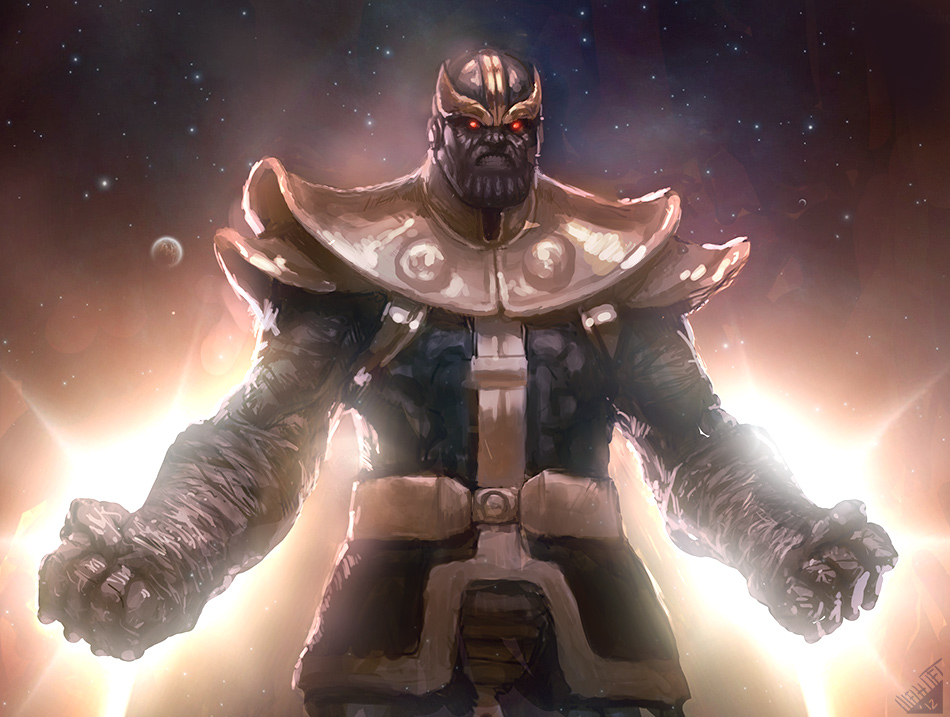 Thanos by Memed