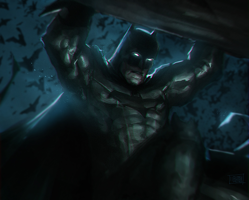 Batman by Memed