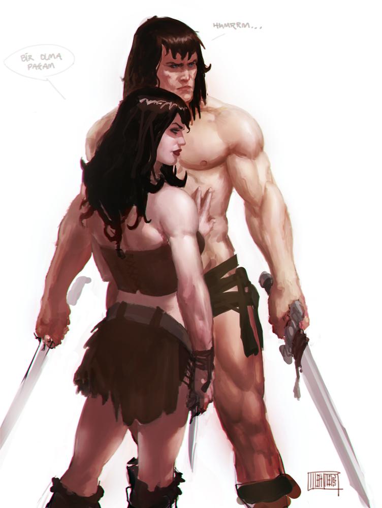 Conan-Belit by Memed