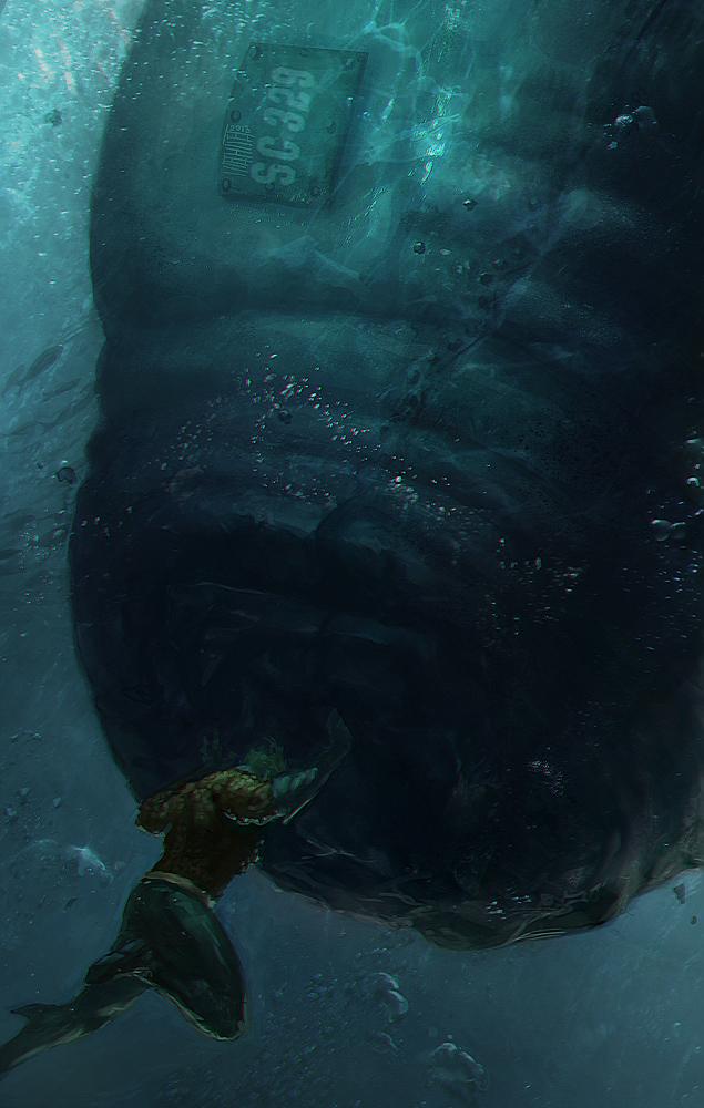 Aquaman by Memed