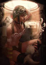 Tank Girl by Memed