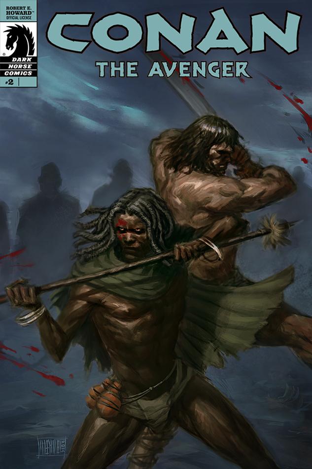 Conan the Avenger by Memed