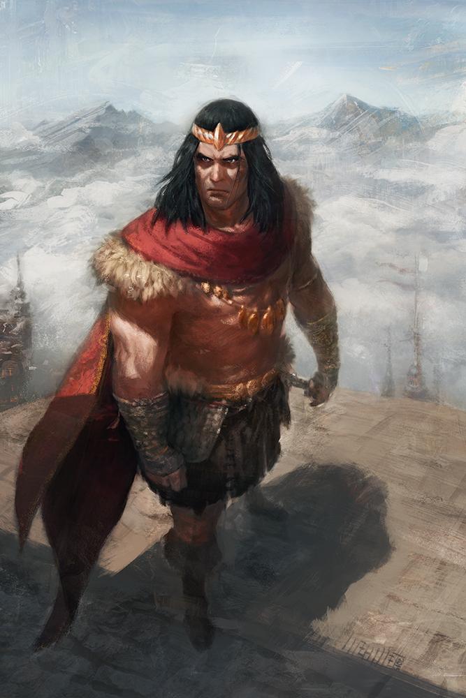 King Conan by Memed