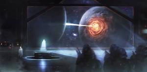 Death Star by Memed