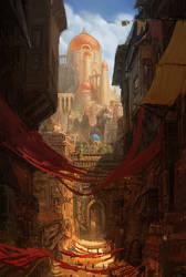 Seyyah Graphic Novel, Concepts, Tarkaca