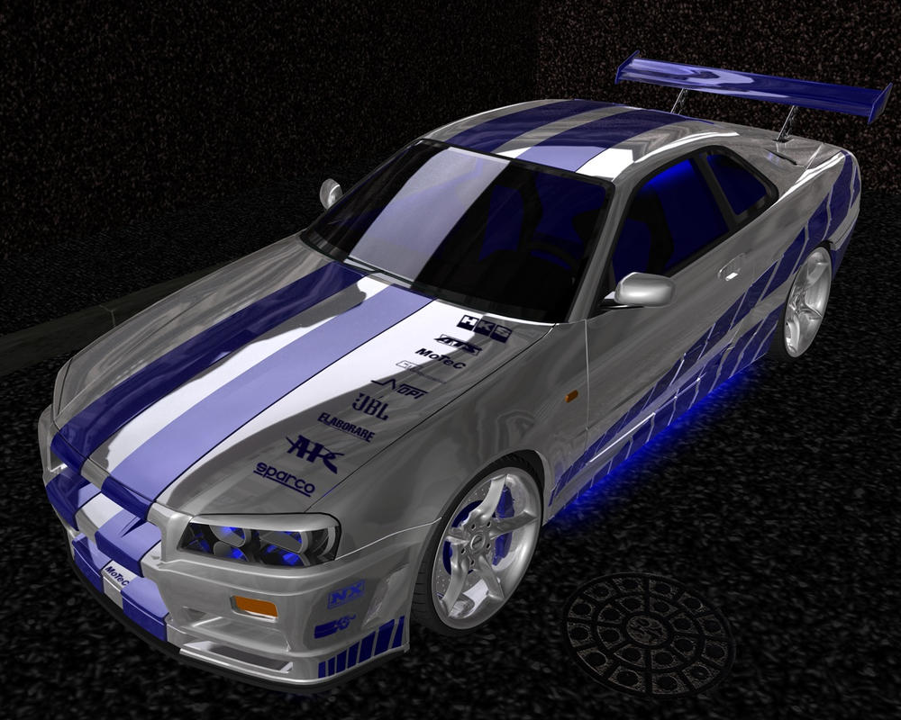 2fast 2furious nissan skyline by serolyx on deviantart. Black Bedroom Furniture Sets. Home Design Ideas