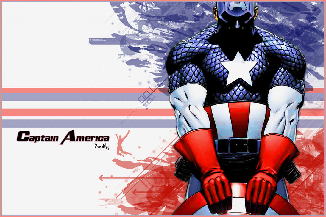 Captain America Vector by PandaPirate69