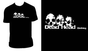 Dead Head Clothing Skull T