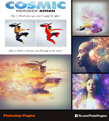 Cosmic Photoshop Action