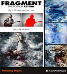 Fragment Photoshop Action