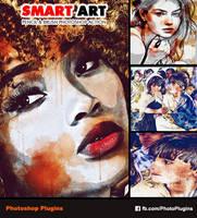 Smart Art - Pencil  Brush Photoshop Action by GraphixRiver