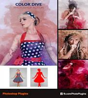 Color Dive Photoshop Action by GraphixRiver