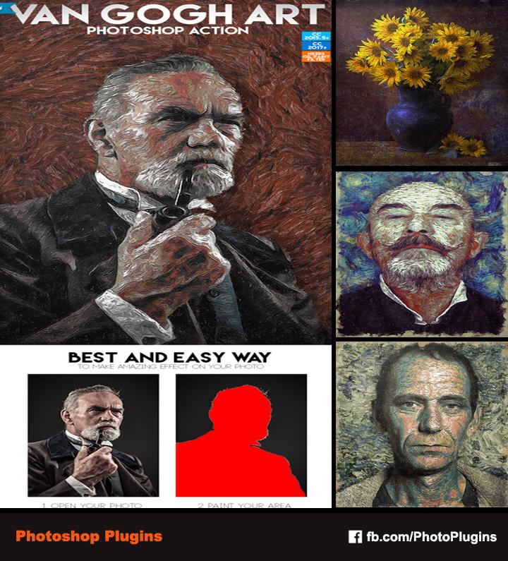 Van Gogh Art Photoshop Action by GraphixRiver on DeviantArt