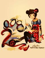 Happy New Years 2008 by Pochi-mochi