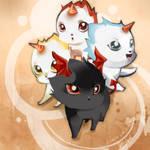 Jr. kitties. Maplestory