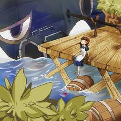 Maplestory - Nautilus Port by Pochi-mochi