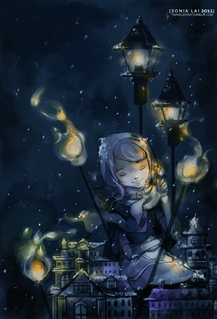The Little Match Girl by Pochi-mochi