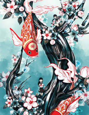 Bubbling Transience by Pochi-mochi