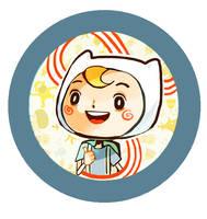 Adventure Time: Finn by Pochi-mochi