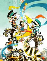 Kingdom Carousel- Symphony of Stars by Pochi-mochi