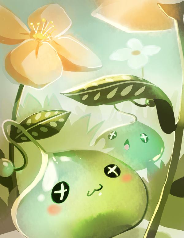 Maplestory Slimes by Pochi-mochi
