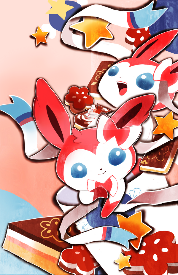 Sylveon Sweets by Pochi-mochi