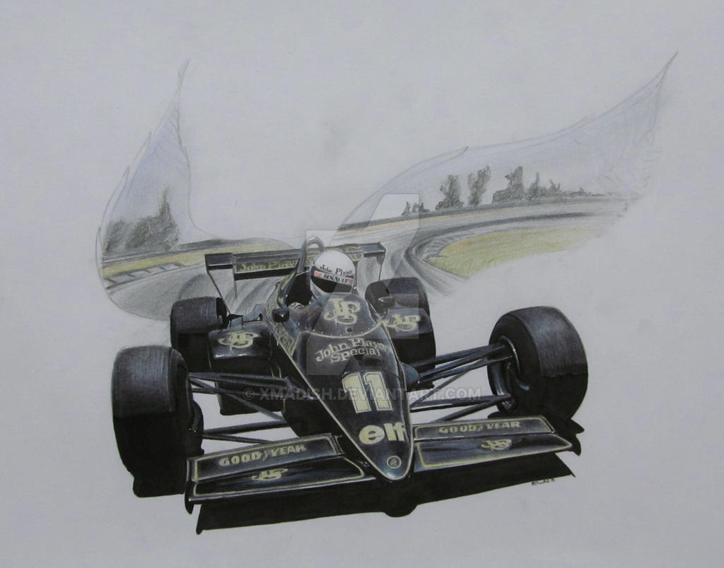 The touch of the angel  - Elio de Angelis 1984 by xMadish