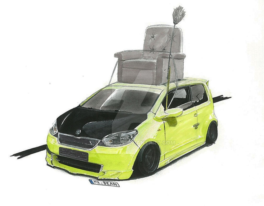 Skoda Citigo Mr. Bean Edition by xMadish