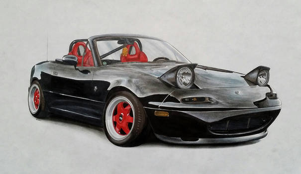 Mazda Miata / MX-5 NA by xMadish