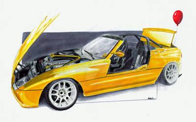 Mad BMW Z1 - 2JZ Swap :D