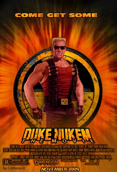 Duke Nukem movie poster