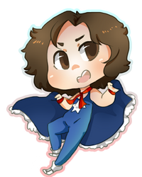 Raffle Prize- Danny Sexbang by Artist-squared