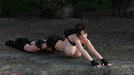 Lara boobs 6 by ddpepsi