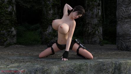 Lara boobs 2 by ddpepsi