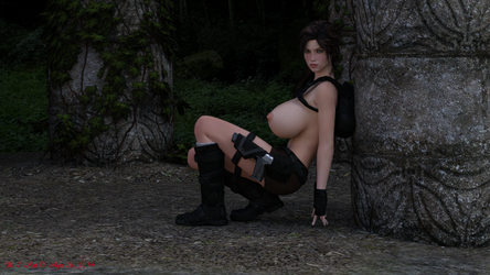 Lara boobs 7 by ddpepsi