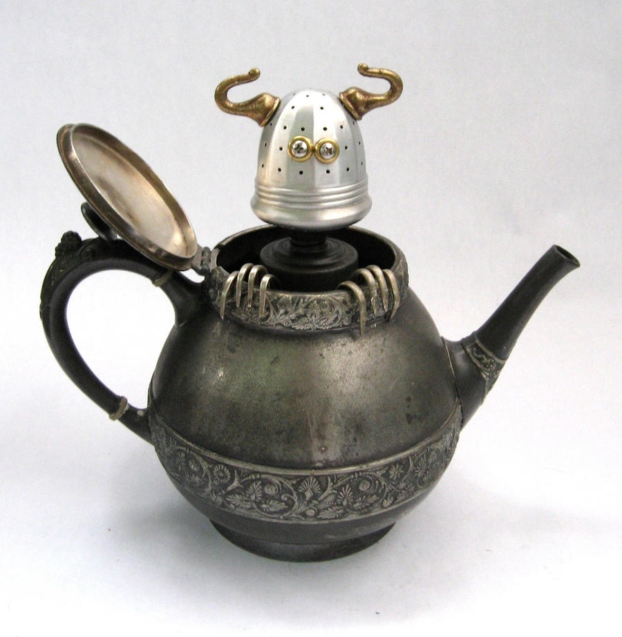 Teabob - Robot Sculpture by adoptabot