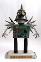 Motorola - Robot Sculpture by adoptabot
