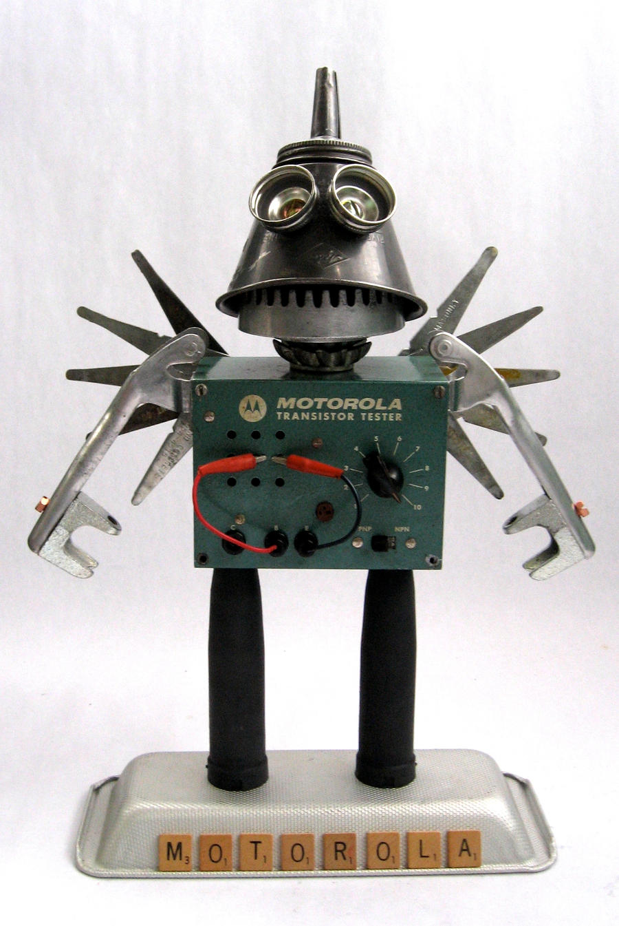 Motorola - Robot Sculpture by adoptabot