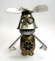 Dipper - Robot Sculpture by adoptabot