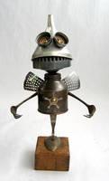 Fry - Robot Sculpture by adoptabot
