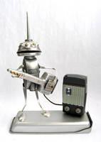 Johnson - Robot Sculpture by adoptabot