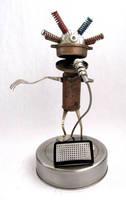 Gamon - Robot Singer by adoptabot