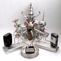 Robo Band - Robot Sculptures by adoptabot