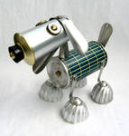 Sterling - Robot Dog Sculpture